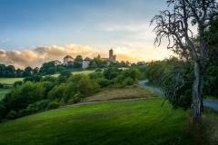 Sommerabend an der Burg Greifenstein