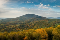 Melibokus - der höchste Berg der südhessischen Bergstraße