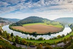 Neckarschleife bei Neckarsteinach