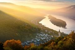Sonnenaufgang Lorch am Rhein