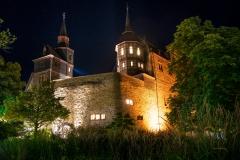 Schloss Romrod am Abend
