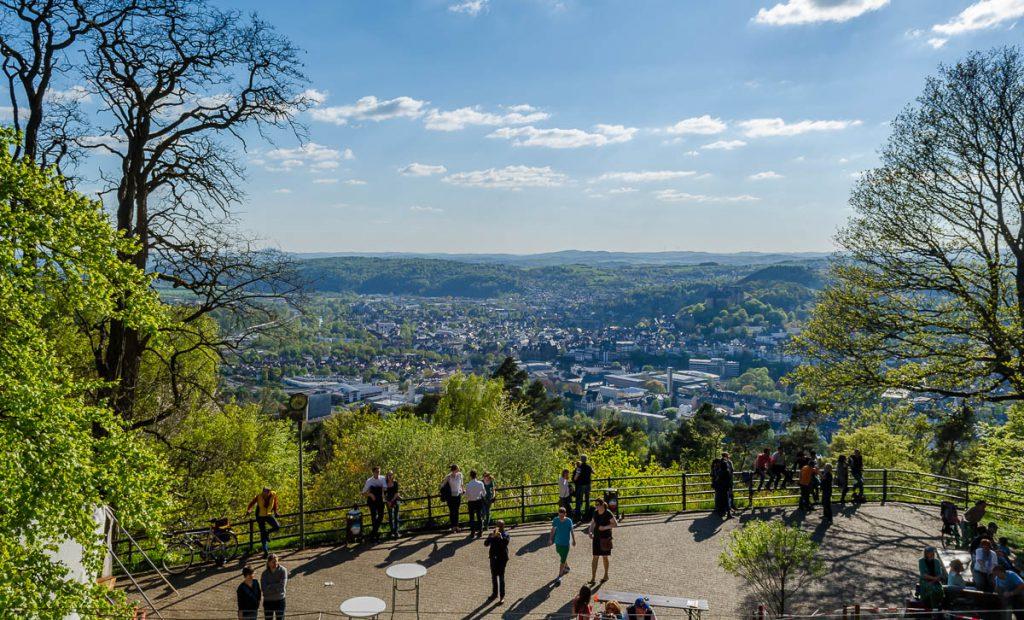 Ausblick vom Kaiser-Wilhelm-Turm - Spiegelslustturm genannt