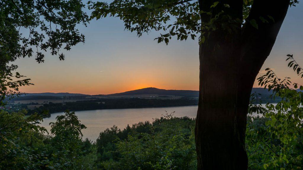 Borkener See Aussichtspunkt