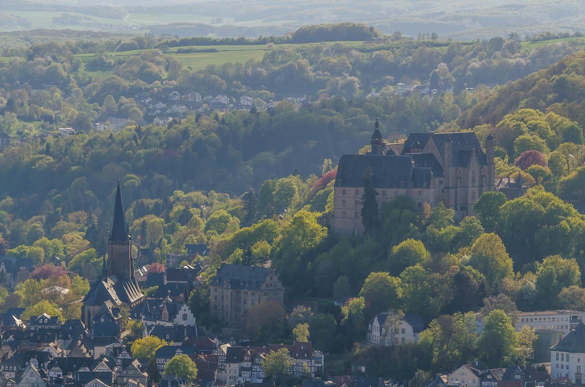 Marburger Schloss und Elisabethkirche