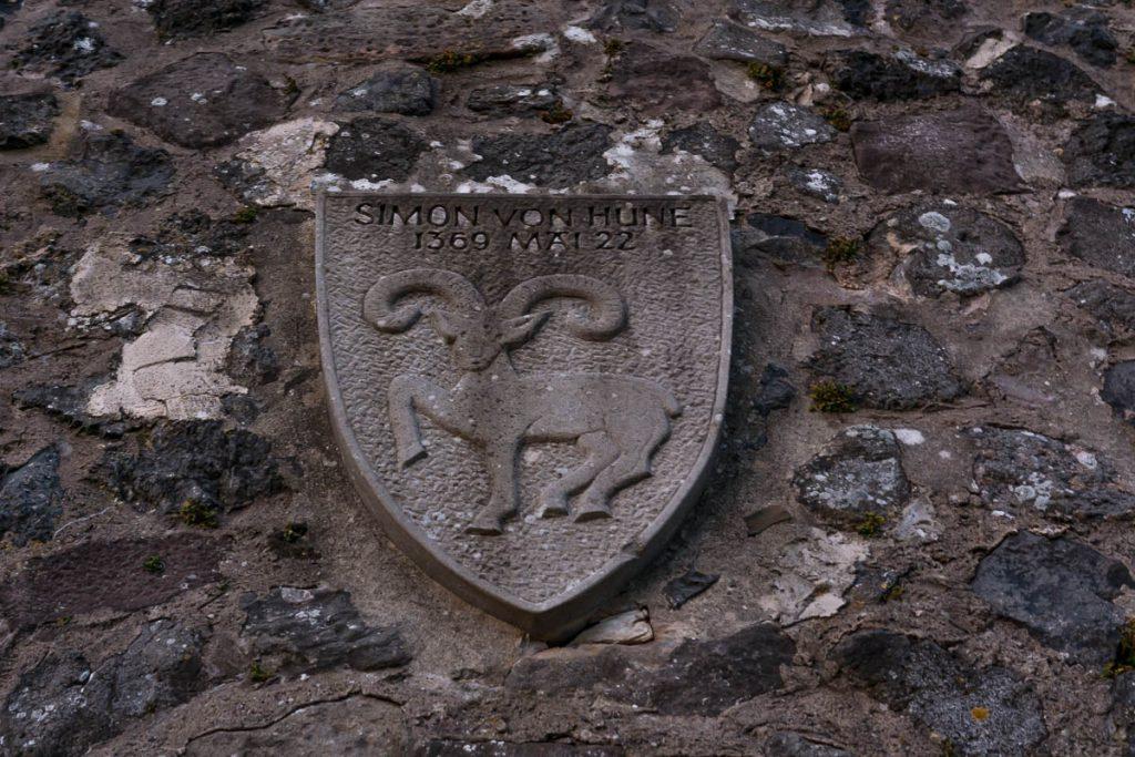Wappen Simon von Hune