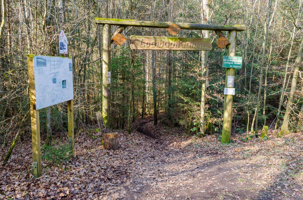 Eingang zur Lochbachklamm