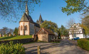 Martinskirche und Küsterhaus