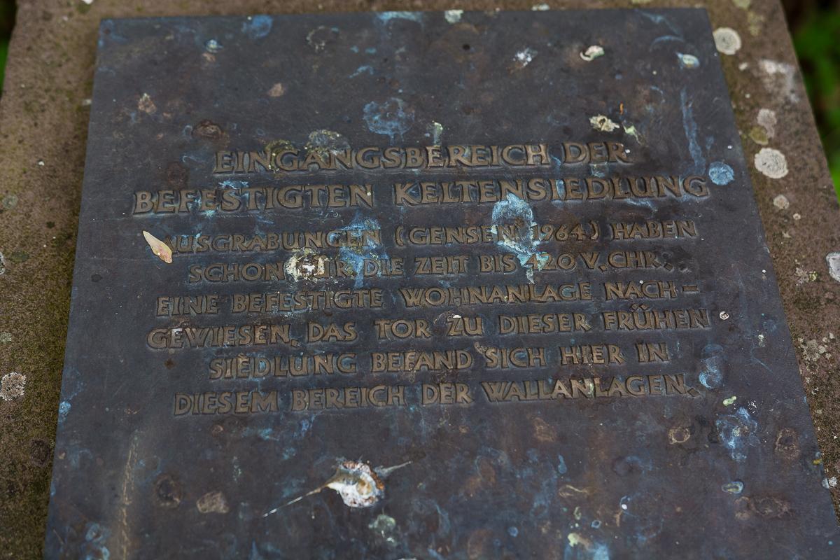 Info-Tafel am Christenberg