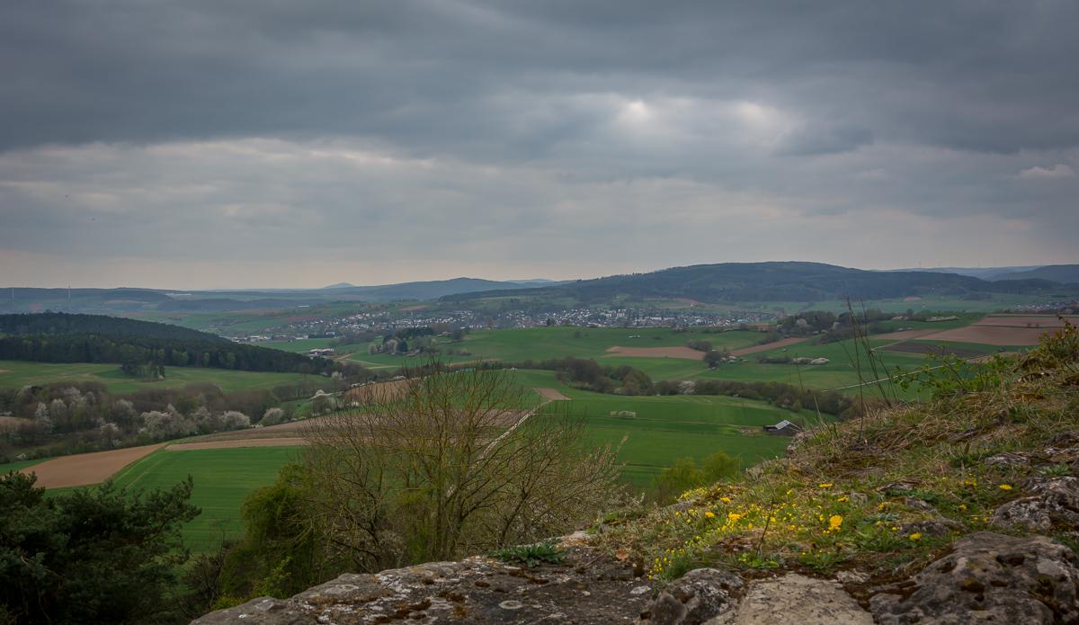 Ausblick von Burg Mellnau